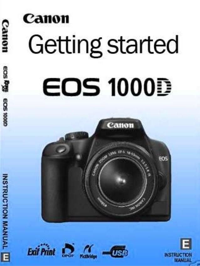 Canon guide