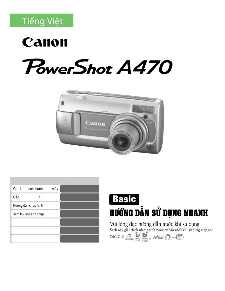 Canon power shot a470 digiworldhanoi.vn