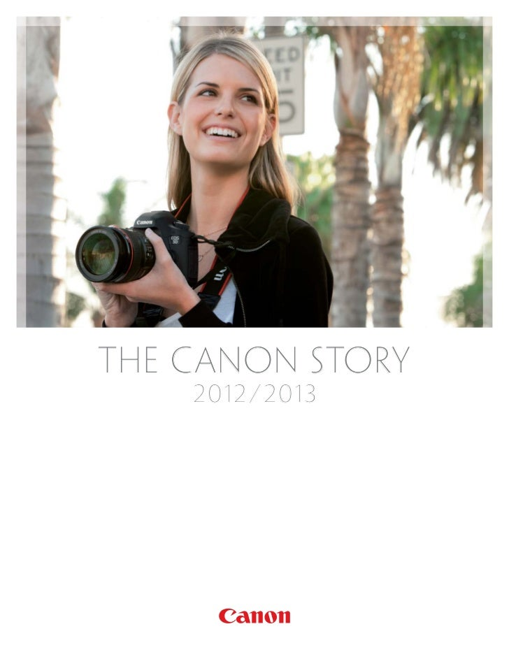 THE CANON STORY    2 012    2012 / 2 013