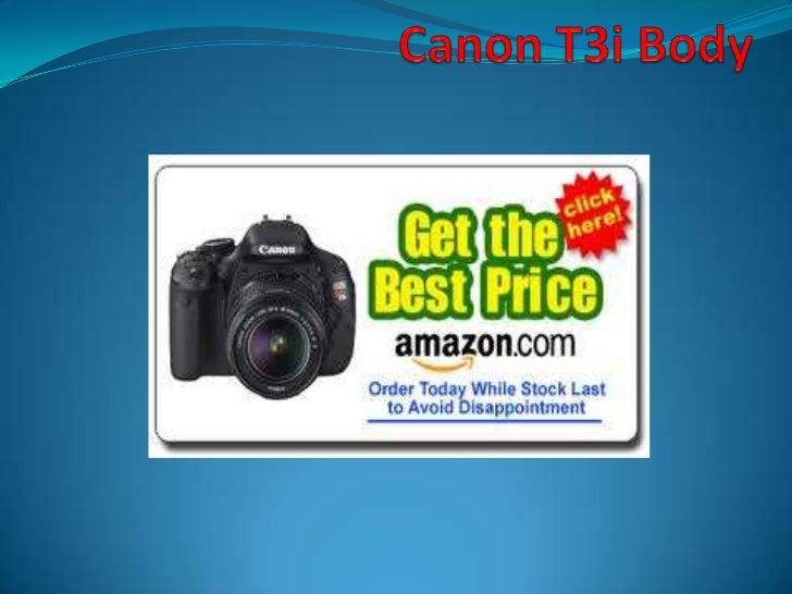 Canon T3i Body <br />