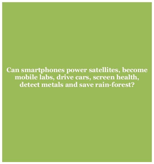 Can smartphones power satellites