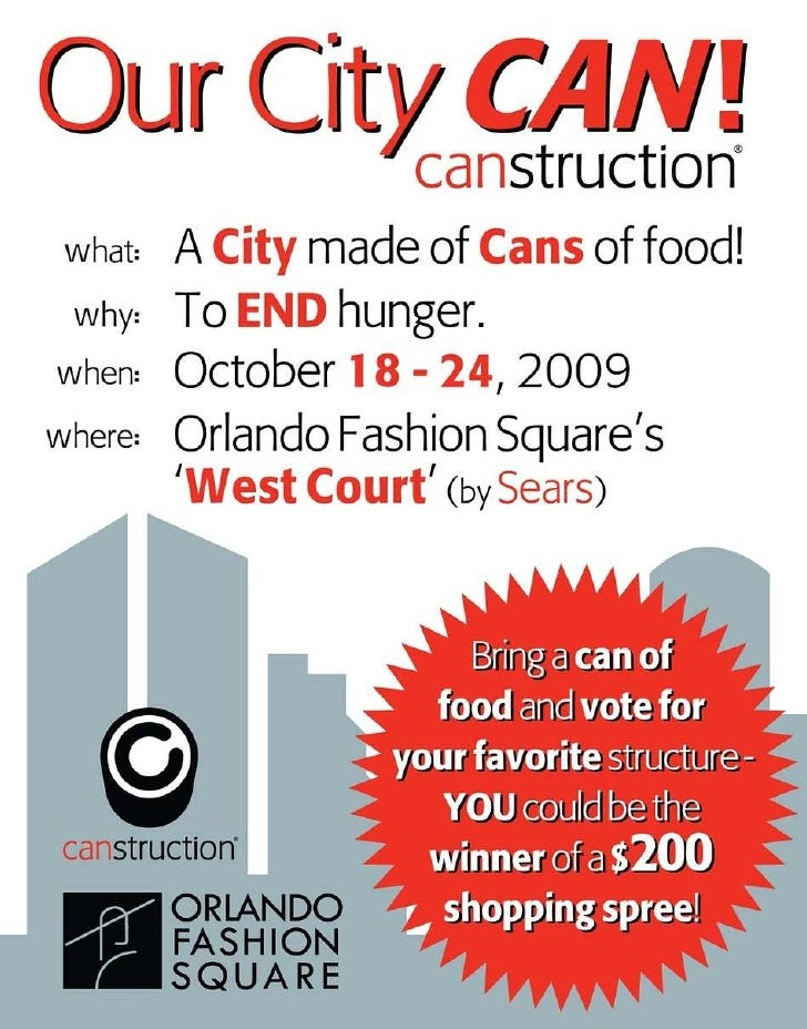 Canstruction 2009
