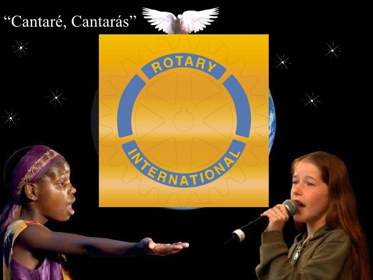 """ Cantaré, Cantarás"""