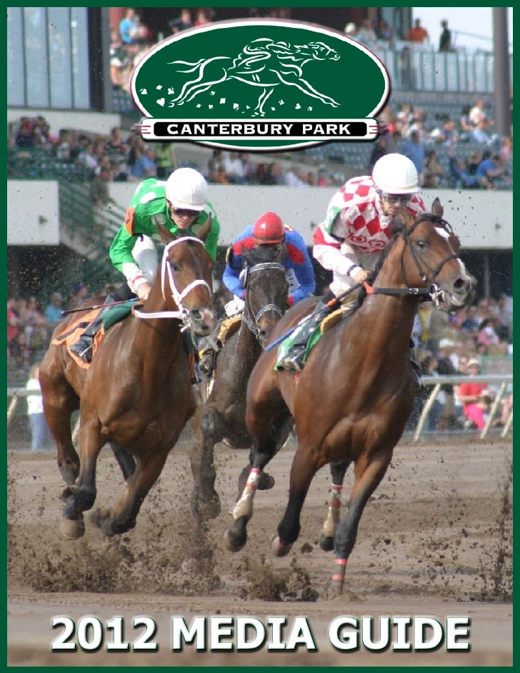 2012 Canterbury Park Media Guide