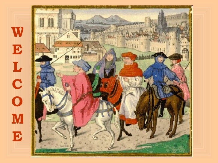 Canterbury Tales Background Pp
