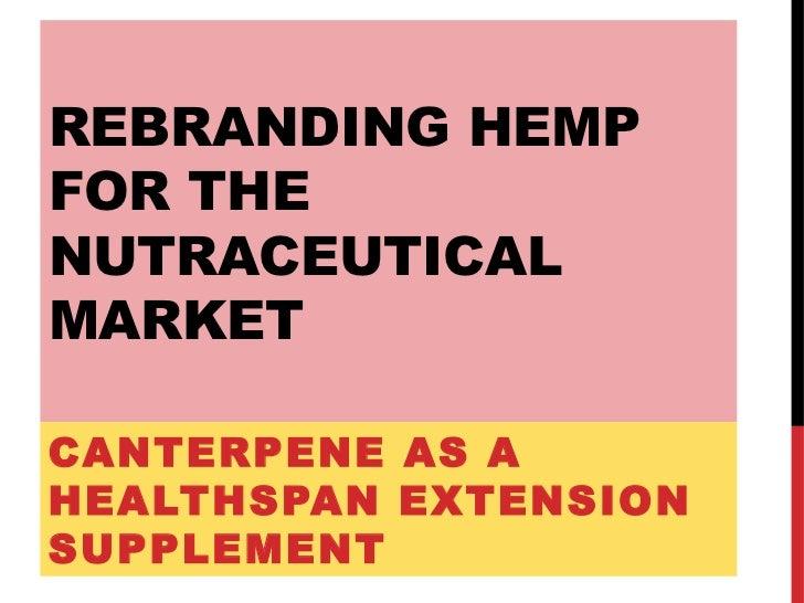 Canterpene Hemp Based Nutraceutical Formulations