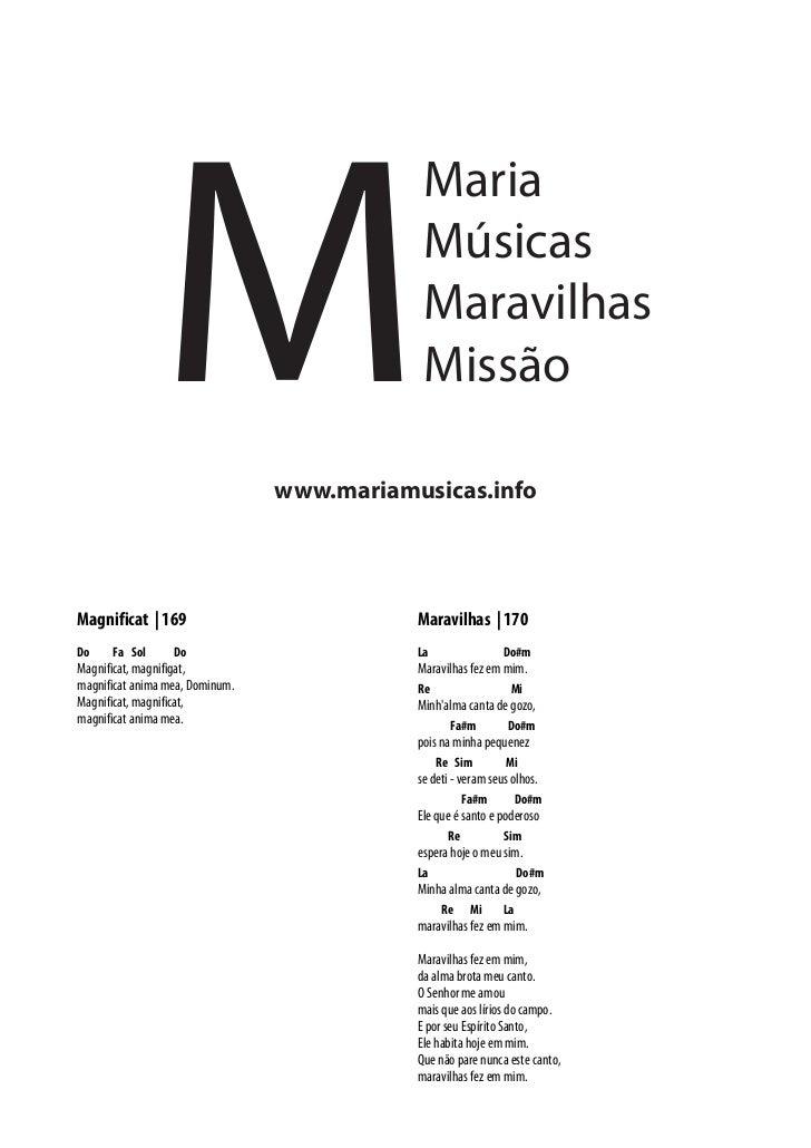 M                                             Maria                                             Músicas                   ...