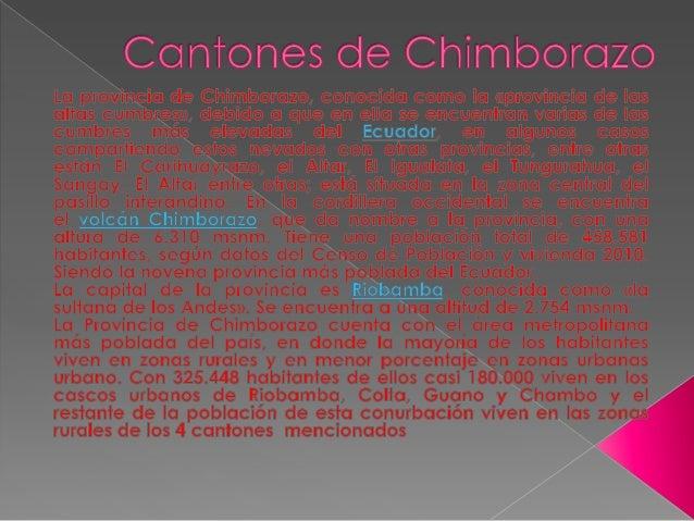  Alausí es un cantón de la Provincia de Chimborazo en  el Ecuador. Se sitúa en una altitud promedio de  2.340 msnm. La co...