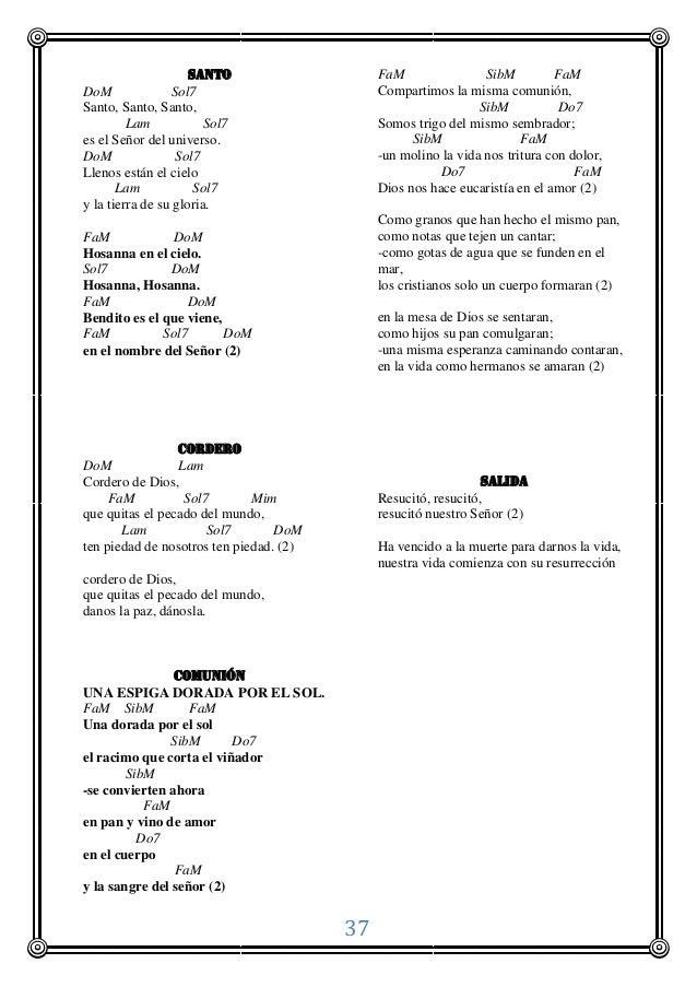 Misa Matrimonio Catolico Lecturas : Cantos misa matrimonio catolico pascua