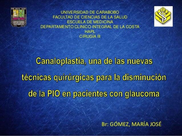 UNIVERSIDAD DE CARABOBO FACULTAD DE CIENCIAS DE LA SALUD ESCUELA DE MEDICINA DEPARTAMENTO CLINICO INTEGRAL DE LA COSTA HAP...