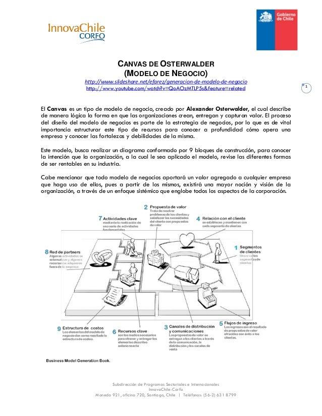 Subdirección de Programas Sectoriales e Internacionales InnovaChile-Corfo Moneda 921, oficina 720, Santiago, Chile   Teléf...