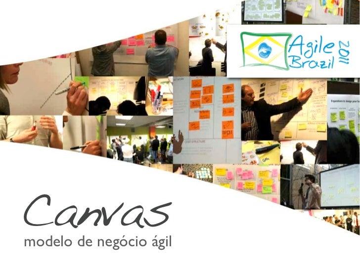 Canvas Business Model Generation - Agile Brazil 2011