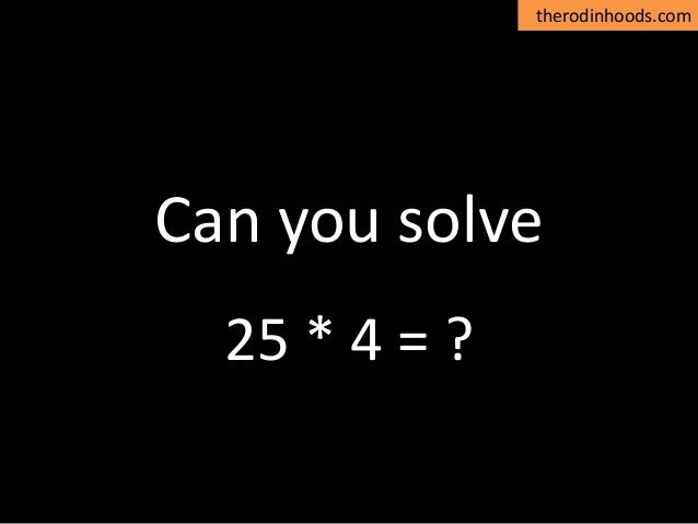 therodinhoods.com Can you solve… Alok Rodinhood Kejriwal Founder – 2win group & therodinhoods
