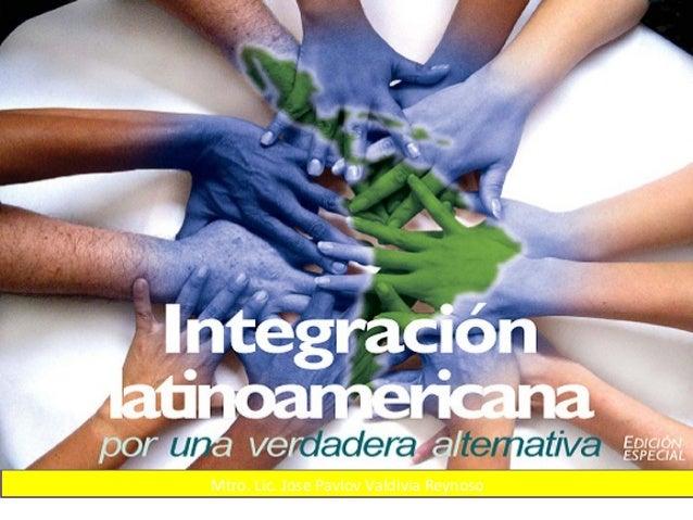 Cap. 8 la integracion latinoamericana