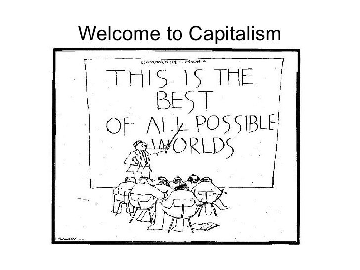 Welcome to Capitalism