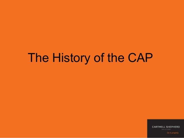 Cap powerpoint presentation March 2013