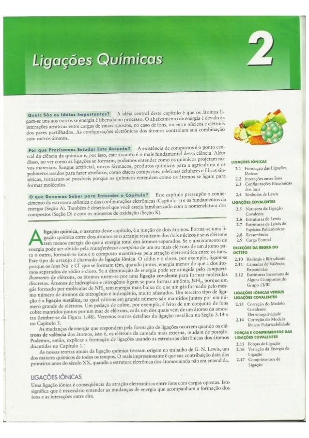 Cap02   ligações químicas