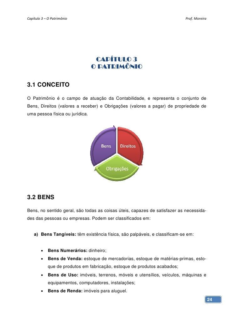Capítulo3–OPatrimônio                                                   Prof.Moreira                                ...