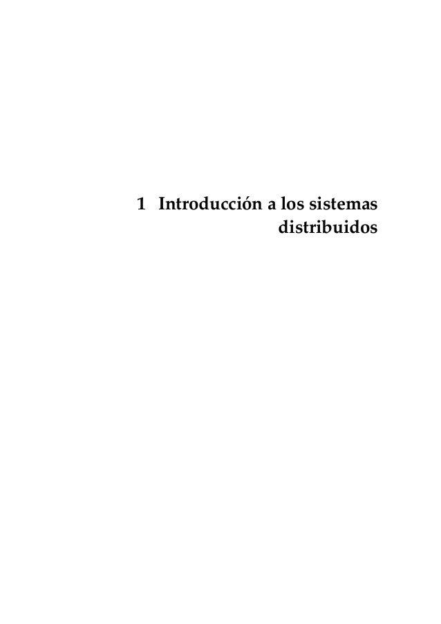 1 Introducción a los sistemas                distribuidos