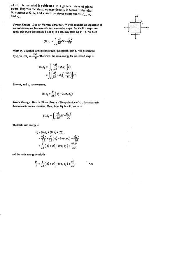 Resistência dos Materiais - Hibbeler 5ª Ed.Cap14 - Exercícios resolvidos