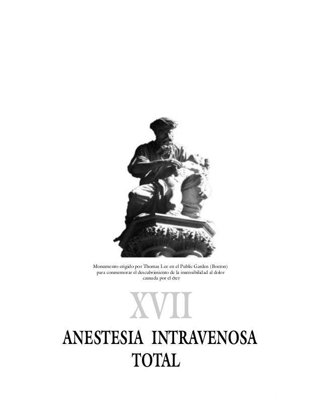 Cap17 anestesia intravenosa total