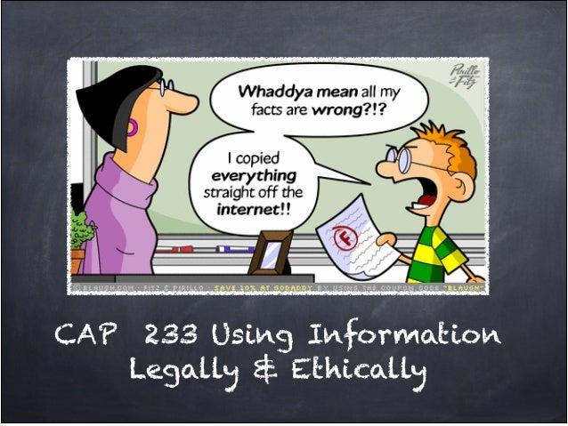 Cap  233 legal & social issues