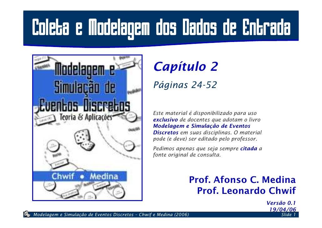 Coleta e Modelagem dos Dados de Entrada                                                   Capítulo 2                      ...