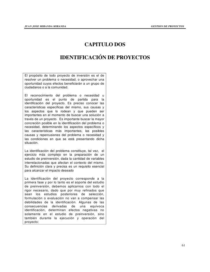 JUAN JOSE MIRANDA MIRANDA                                GESTION DE PROYECTOS                                        CAPIT...