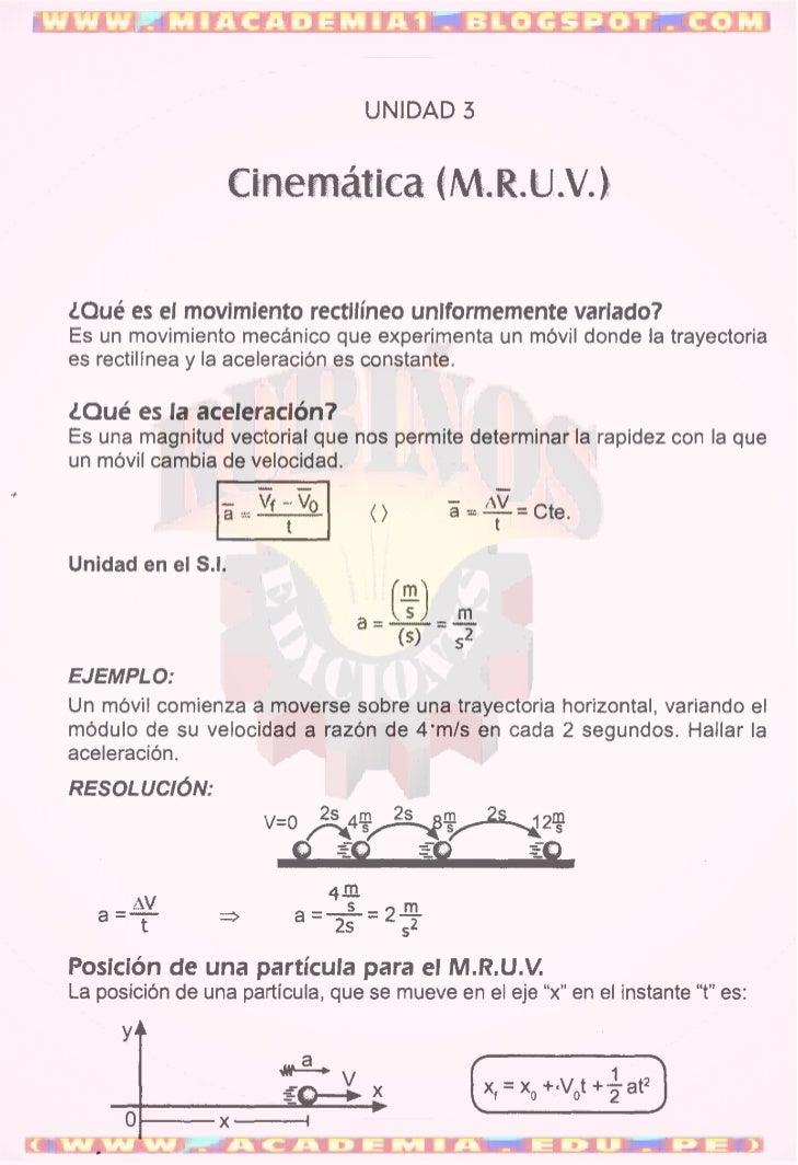 CINEMÁTICA_MRU