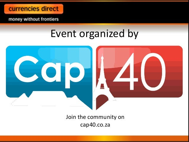 Event organized byJoin the community oncap40.co.za
