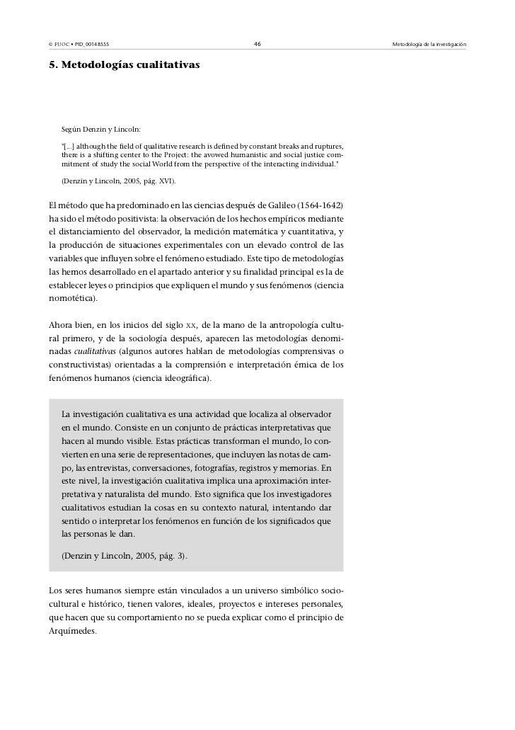 © FUOC• PID_00148555                                              46                               Metodología de la inve...