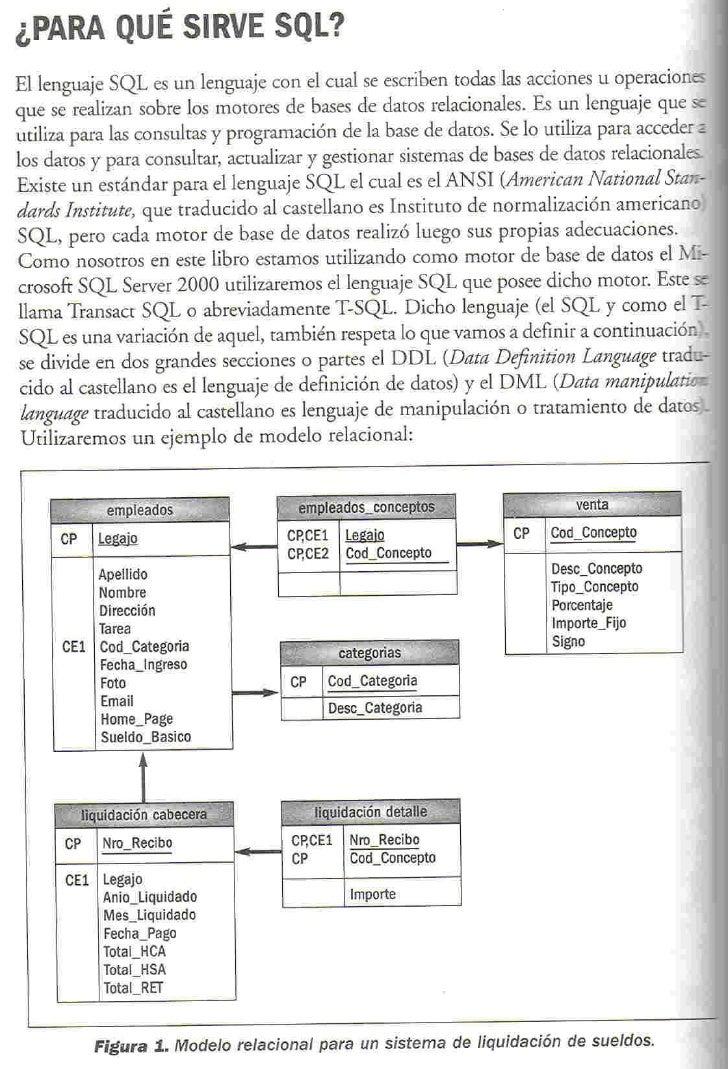 ¿PARA QUÉ SIRVE SQL? El lenguaje SQL es un lenguaje con el cual se escriben todas las acciones u operaciones que se realiz...