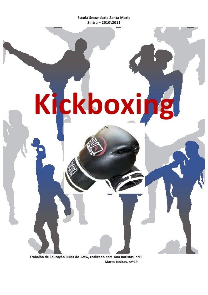 trabalho kickboxing
