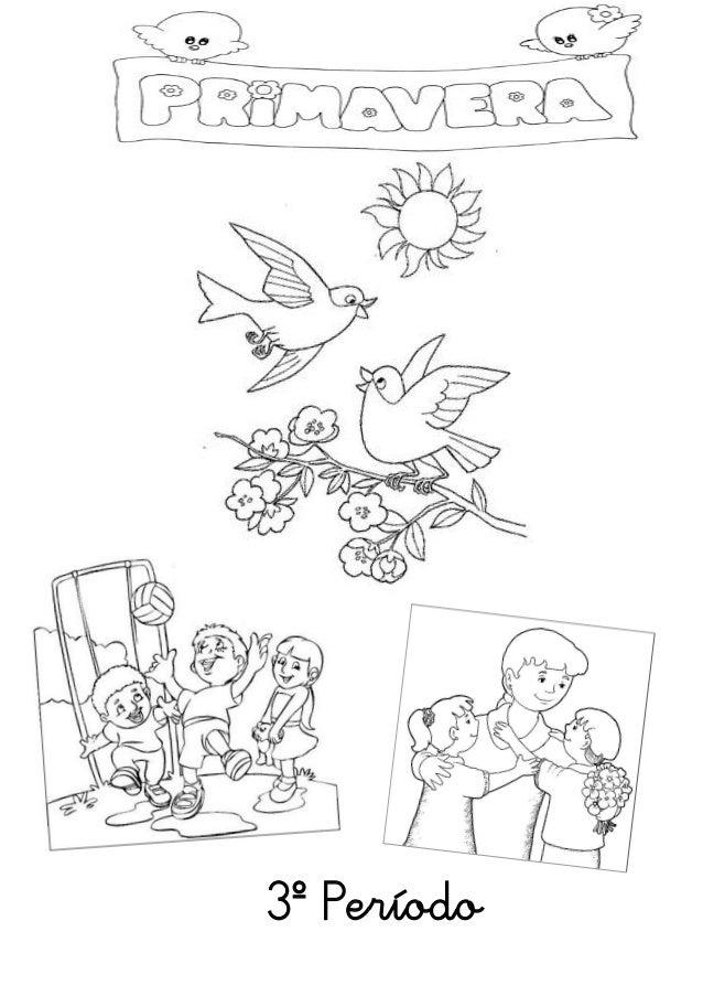 Capa 3º período primavera, dia da mãe e da criança