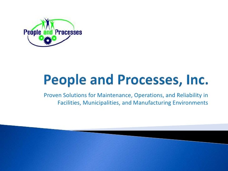 People And Processes, Inc.
