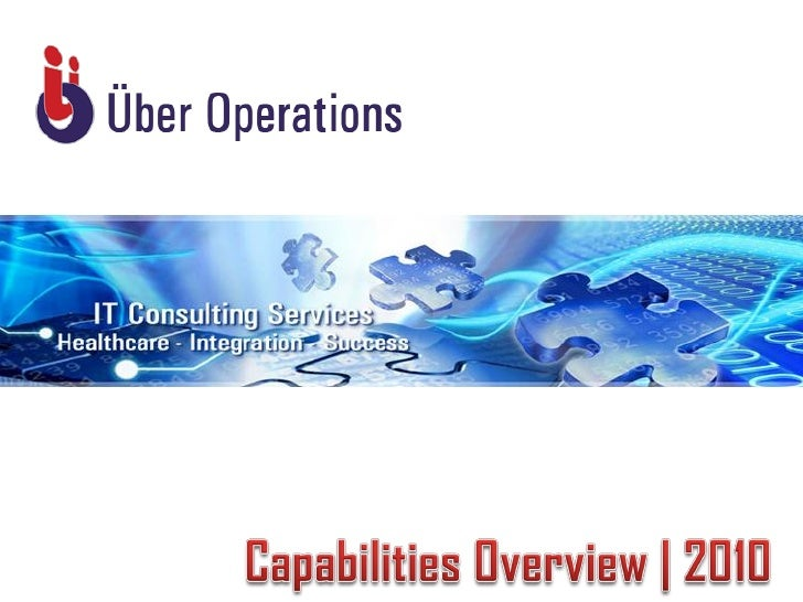 Uber Operations Capabilities presentation