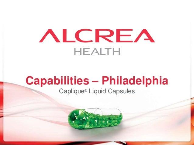 Capabilities – Philadelphia Caplique® Liquid Capsules