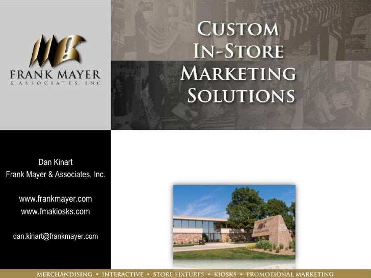 Frank Mayer & Associates, In-Store Marketing experts