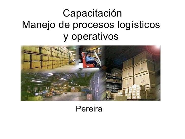Capacitación almacenamiento