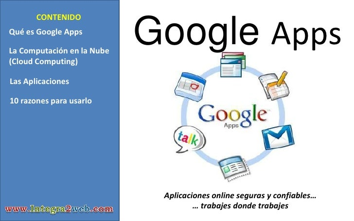 Capacitación Google Apps