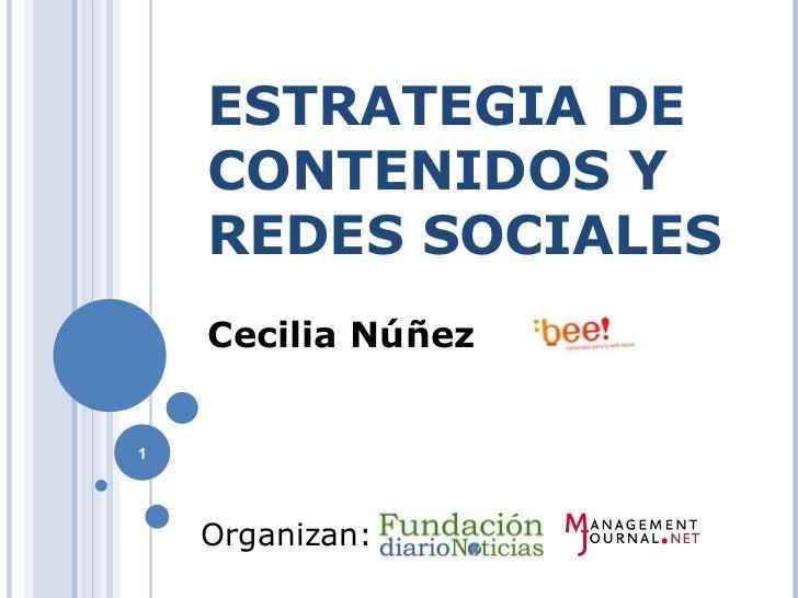 Capacitacion sobre Estrategias de Comunicación Online y Difusión de producto en Medios Sociales