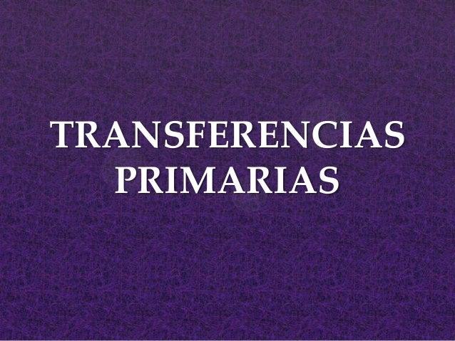 Capacitacion transferencias primarias