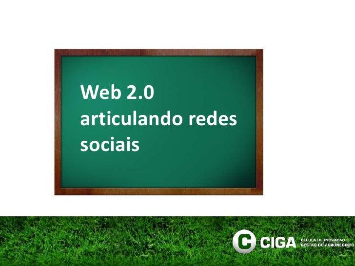 Web 2.0articulando redes sociais<br />