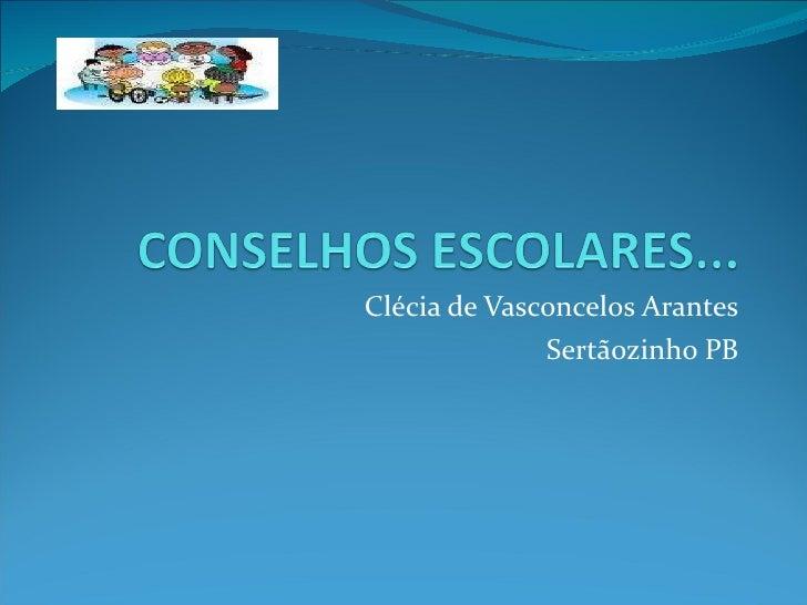 Capacitação dos conselhos escolares - Sertãozinho PB