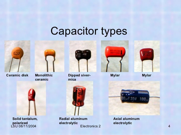 Tech Skills Capacitor 07 21 11