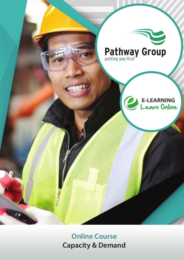 Capacity & Demand, E-learning, Pathway Group, Lean Courses
