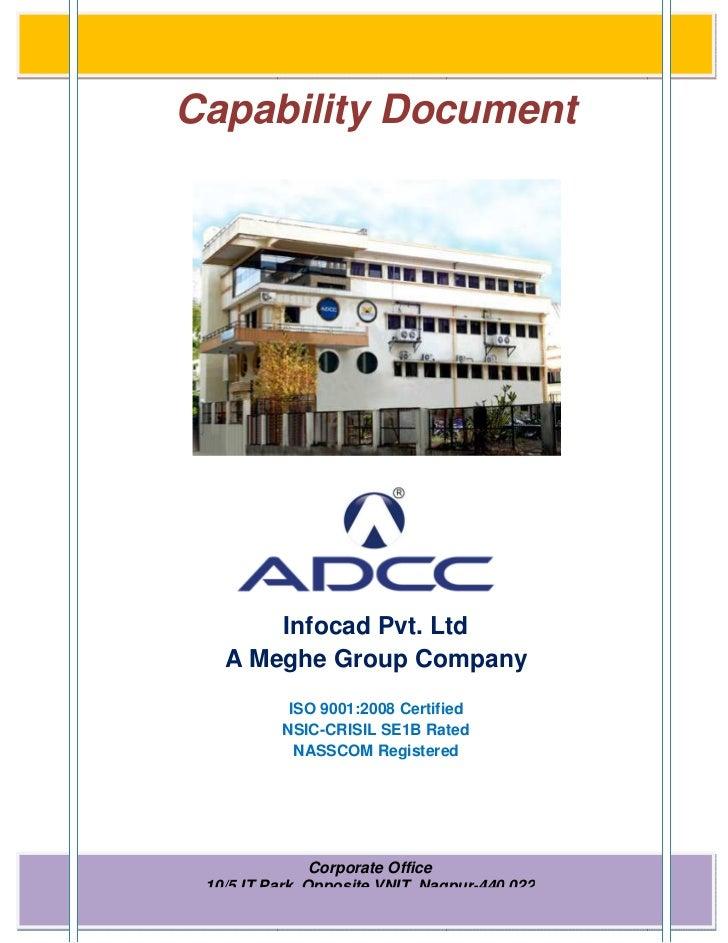 ADCC Infocad Pvt. Ltd