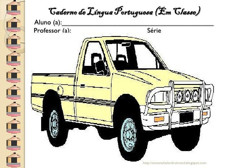 Capas de cadernos caminhotes e caminhões