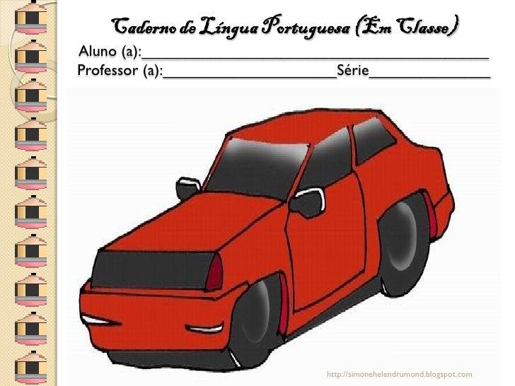 Capas de cadernos carros