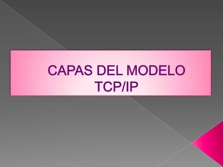 Capas del modelo tcp blog